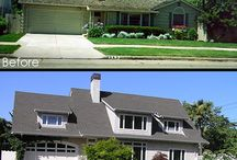 Home renovations before & after