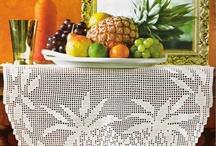 crochet tablecloths