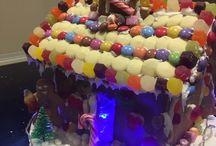 Christmas baking / Christmas baking Santa Babies