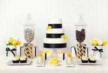 Dessert tables and cake presentation ideas