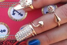 """Nail Candi SA / """"Manicure Jewellery & Nail rings that will instantly glam up your Manicure! Shop online at www.hellocandi.co.za"""""""