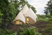 Micro&MobileArchitecture / follies ,tents , tree houses