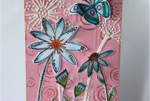 Lisa B Designs Workshop Projects / My monthly mixed media and card making workshops are held in Grove Green Community Hall, Maidstone Kent ME14 5BT