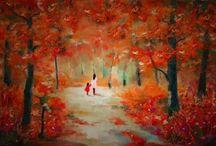 Panoramas Oil Paintings