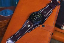 Watchstrap / Handmade Watchstrap from my leather studio Dali l.s.