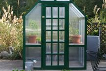My Greenhouse / A greenhouse I built with my twin brother.