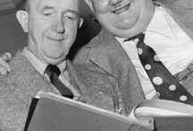 Gøg og Gokke Laurel and Hardy / Billeder og filmklip af to store komikkere