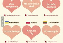 Love you in different languages