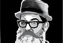 bitli bezelye / illustrator digital art
