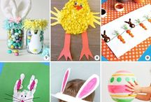 Easter and animals crafts