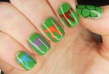 Kaylee's nails / CRAZY KID CRAZY!!!!!!!!!!!!!!!!!!!!! / by Erin Hicks