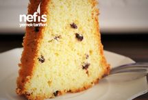 Kekler, Pastalar ve Turtalar