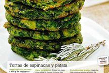 recetas con espinaca