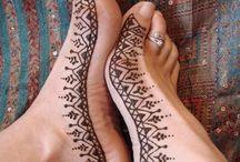 Henna tattoos  / Tattos