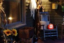 Prim Halloween & Fall Decor / Holidays - Fall and Halloween for all us prim lovers / by Sunny Simple Life - simple living everyday