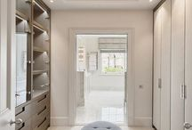 Dressing Room/Wardrobe Envy / We can't get past how amazing some of these spaces are. Whether you are a shoe lover, jewelry collector or tie aficionado, these wardrobes will make you green with envy.