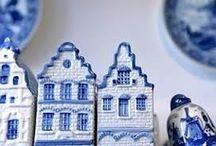 Porcelana y cerámica. / Objetos de porcelana o de cerámica de distintas procedencias.