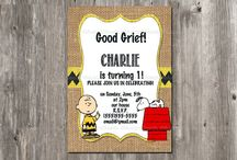 Charlie's first bday / by Jessi