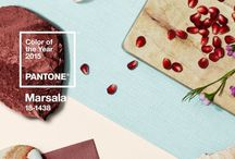 Pantone 2015 Color of the Year: Marsala / by Elizabeth Arden