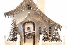 Christmas Decor (and mostly Putz houses) / by Amy Singleton Healy