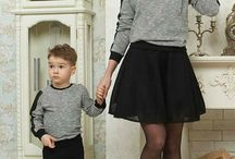 Dress for mum and children