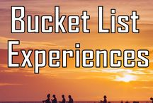 BUCKET LISTS BEFORE 60