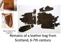 Historical bags, pouches etc.