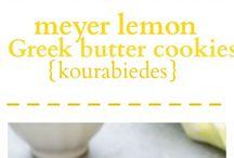 Lemons cookies