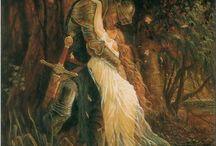 Pre-Raphaelite Paintings