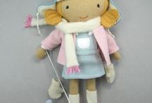 Шитье / Примитивные милые игрушки из ткани
