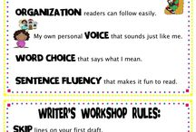 second grade writing ideas / by Jamie Betts