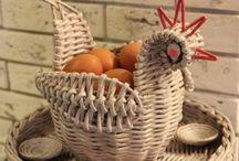 курочки пасха плетение