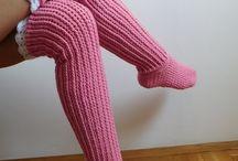 Háčkování - ponožky
