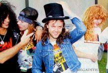 Guns N Roses with Metallica