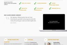 Our Webdesign Projects / Have a look at our Webdesign Projects!