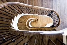 Curved Stairs / Curved and monumental staircases