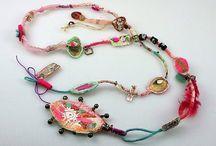 fiber jewelry / by Jean Peter