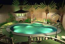 Pool and patio ideas / by Rebekah Howard