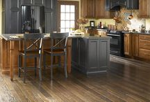 Hardwood Flooring / Some Examples of Hardwood products that we carry.