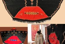 Moroccan Tribal / Moroccan Tribal clothing with an emphasis on fabric and design.