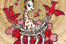 Source d'inspiration / Variations autour de Sophie la girafe®