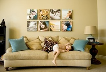 Photo display ideas / by Margaret Kukuc