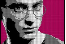 Pixel art Harry Potter