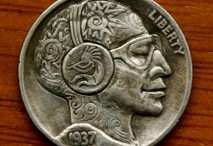 Carving within a Carving: Hobo Nickels