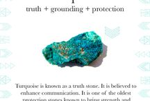 Turquoise / Truth + Grounding + Protection