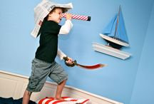Pirate Playdate / ARG! Kids love to play pirates with these pirate themed play date activities