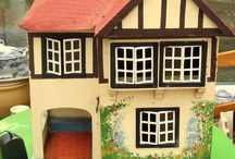 vintage memories / Nostalgic memories of my childhood Triang dolls house and some others .