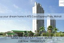 Apartments  in Mohali / ATS #CasaEspana is a dream #residential project for natives of #Tricity region. You can buy super luxurious and #spacious flats in Mohali.Call Now : 9888449029