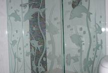 vidrio tallado
