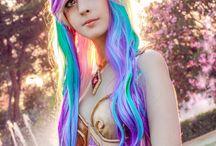 Princess Celestia human